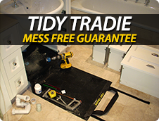 Tidy Tradie No Mess Guarantee